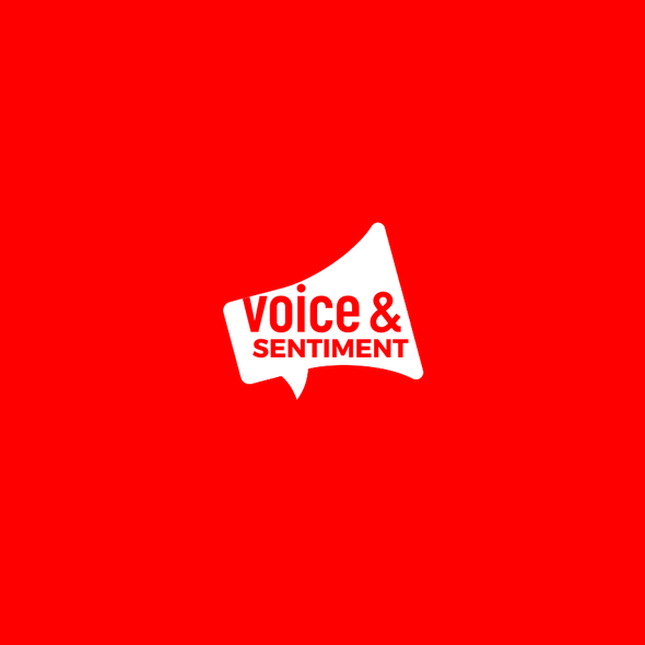 Vote logo with the title 'Bold logo for Voice & Sentiment'