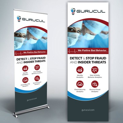 Trade Show Roll-up Banner