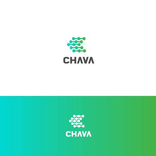 Link logo with the title 'CHAVA'