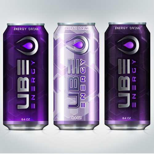 Purple label with the title 'UBE Energy'
