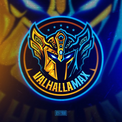 Design with the title 'Logo for VALHALLAMAX'