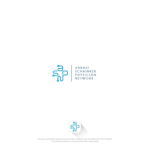 Envelope design with the title 'Physician group logo design'