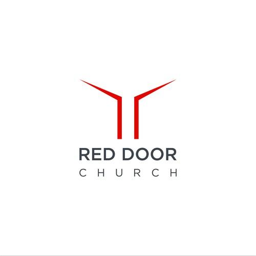 Jesus logo with the title 'RED DOOR'