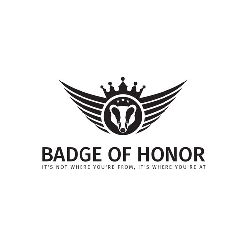 Pride logo with the title 'Cultural Logo For Badge of Honor'