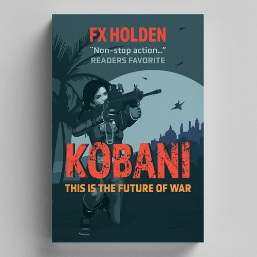 Middle East design with the title 'Kobani'