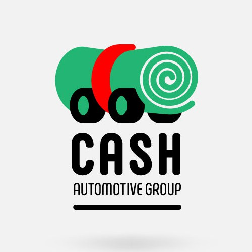 Cash design with the title 'Cash Automotive Group Logo'
