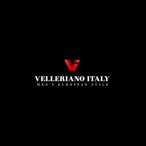 Clothes design with the title 'Velleriano Italy'