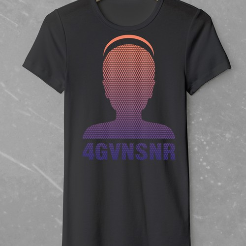 Christian t-shirt with the title 'Christian T-Shirt for 4GVNSNR (forgiven siner)'