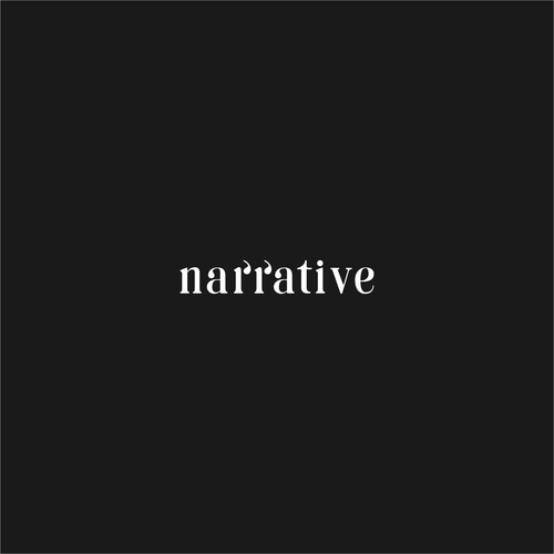 Subtle design with the title 'Logo for Narrative'