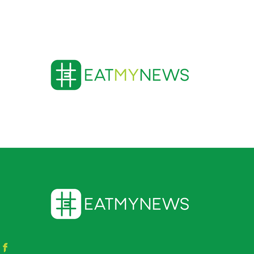 Fast design with the title 'Fast News logo design'