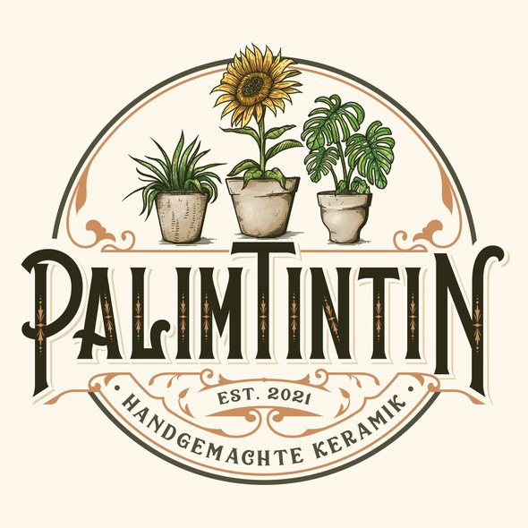 Plant design with the title 'PalimTintin'