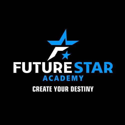 Slogan design with the title 'Future Star Academy'