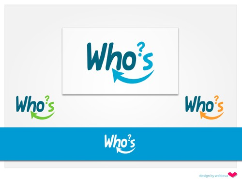 Browser logo with the title 'Logo design for Who's Who?'