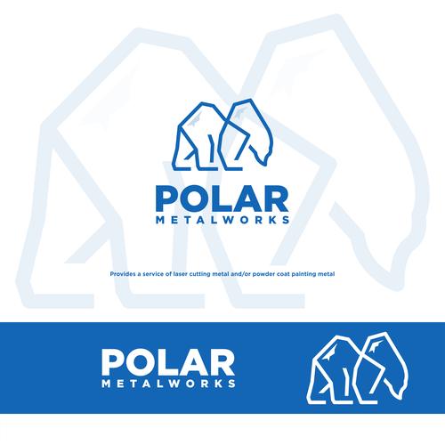 Polar logo with the title 'Polar Metalworks'