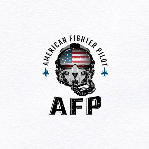 Pilot logo with the title 'AFP Logo'