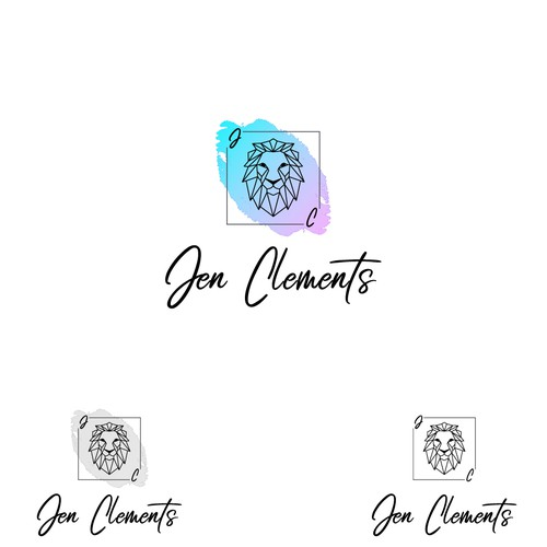 Personal development logo with the title 'Logo Design for Self-help Author / Life Coach - Jen Clements'