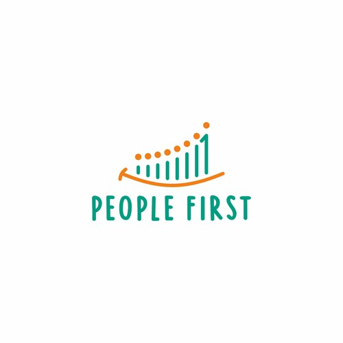 Cultural logo with the title 'Playful Logo for People First'