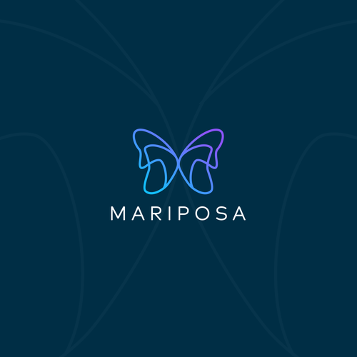 Yoga brand with the title 'Mariposa'