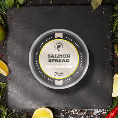 Packaging Design for Salmon Spread