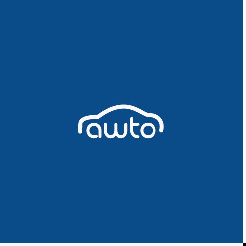Auto design with the title 'simple Logo for awto'