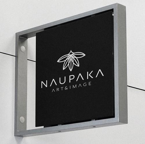 Feminine design with the title 'Naupaka '