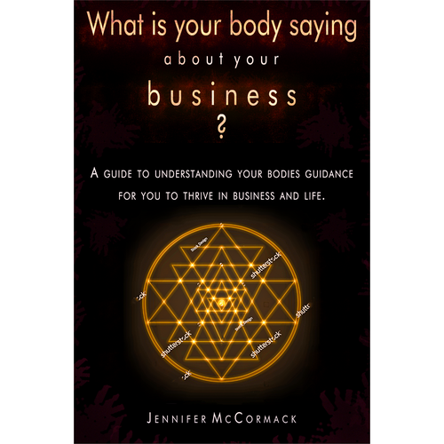 Thrive design with the title 'What is your body saying about your business?'