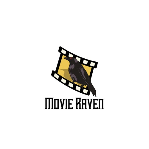 Production house logo with the title 'Logo for movie internet industry'