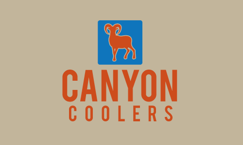 Cooler design with the title 'Canyon Coolers'