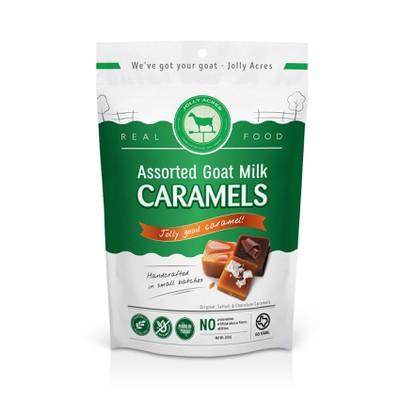 Packaging for Jolly Coat Milk Caramels