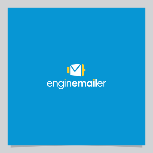 Email logo with the title 'Logo for email marketing service provider'
