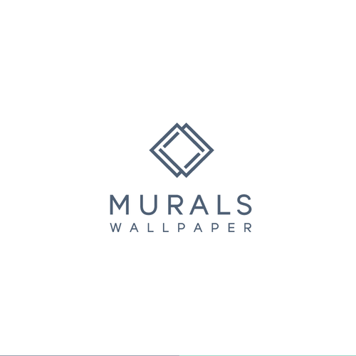 Wallpaper design with the title 'Murals Wallpaper'