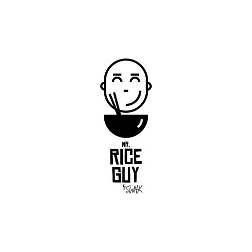 Rice logo with the title 'Rice delivery'