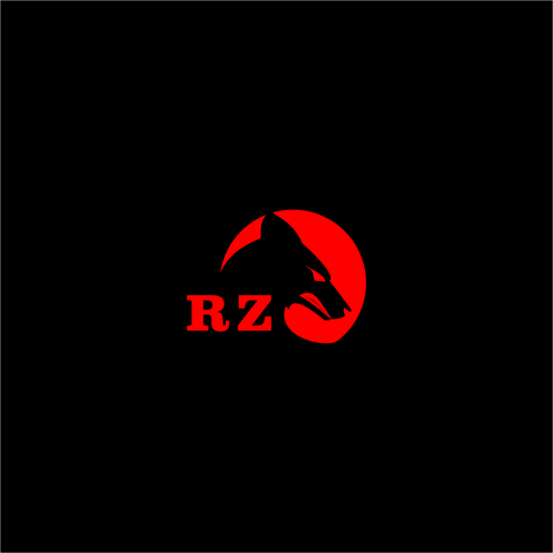 Arts logo with the title 'RZ arts Logo'