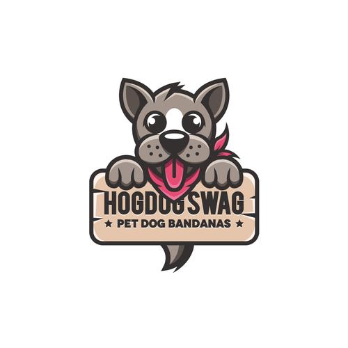 Bandana logo with the title 'Hogdog Swag'