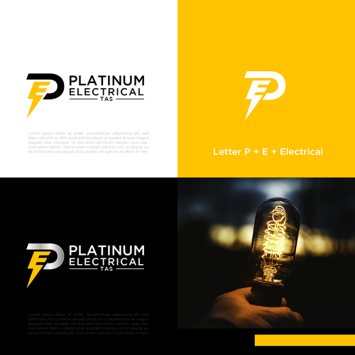 Platinum brand with the title 'Platnum Electrical'