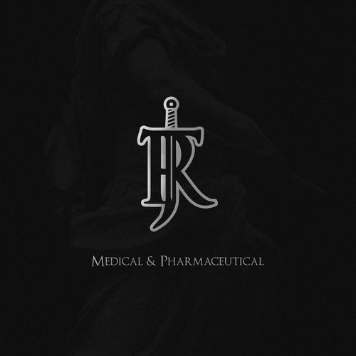 Gothic logo with the title 'Modern Medieval Style Logo'