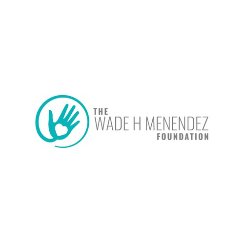 Society logo with the title 'The Wade H. Menendez Foundation Logo Design'