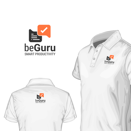 Productivity logo with the title 'BeGURU'