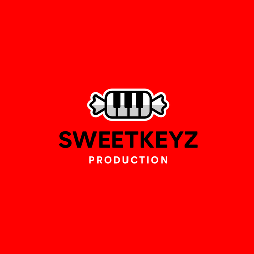 Music production logo with the title 'Sweetkeyz Production'