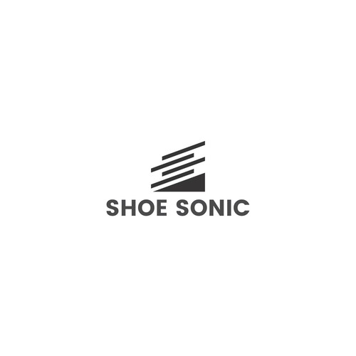 Shoe logo with the title 'Abstract logo for Shoe closet '