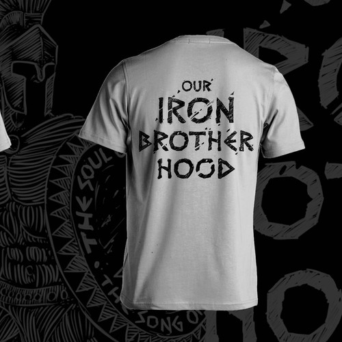 War design with the title 'Our Iron Brotherhood'