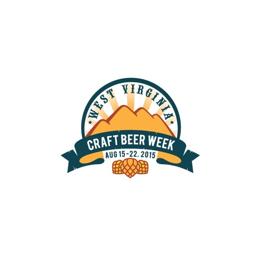Festival logo with the title 'Craft Beer Week'