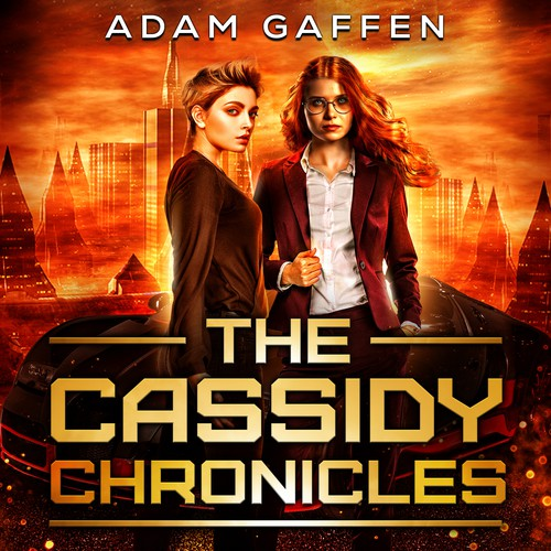 Kindle book cover with the title 'The Cassidy Chronicles '