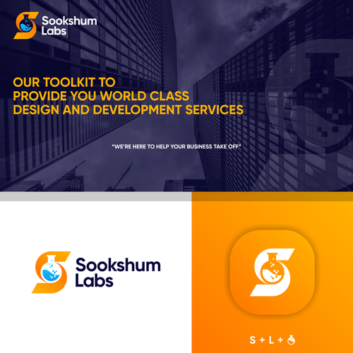 Application brand with the title 'Sookshum Labs'