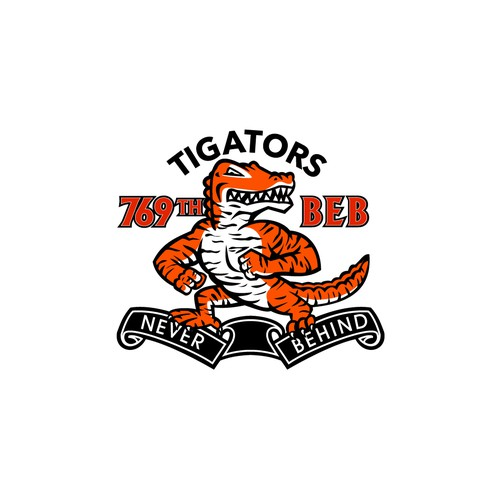 Swamp logo with the title '769th BEB Tigators'