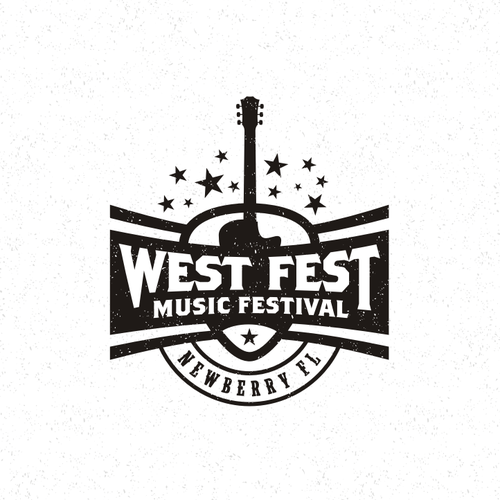 Song design with the title 'Music Festival Logo'