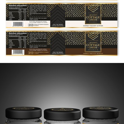 Luxury label design