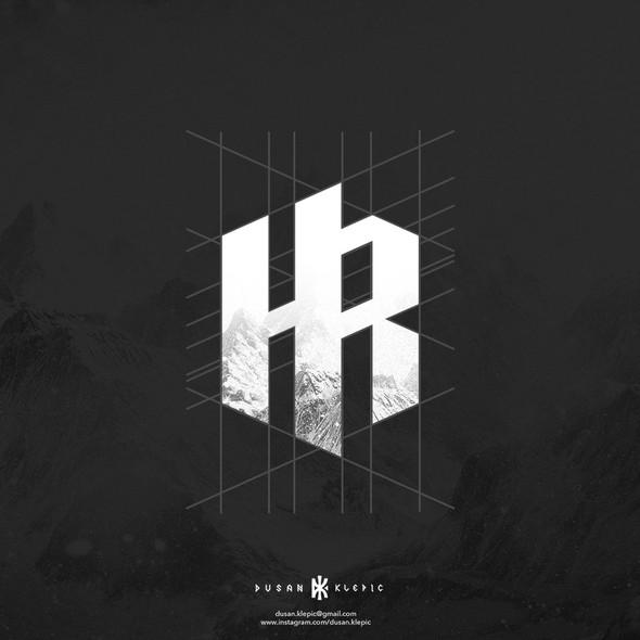 HR design with the title 'Heidler Raabe Logo Design'