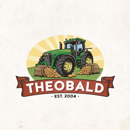 Family brand with the title 'Theobald'