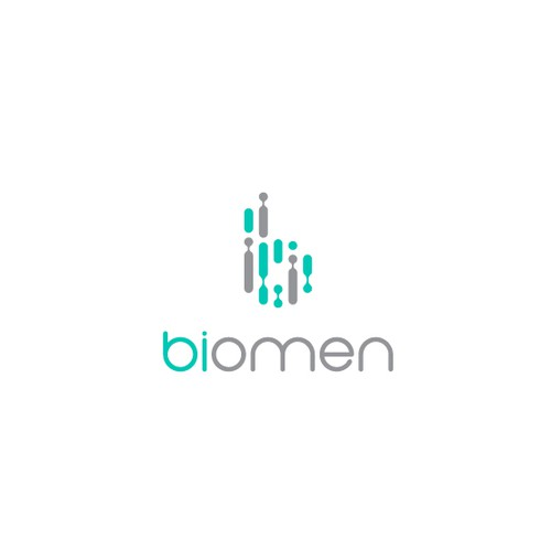 French design with the title 'biomen'